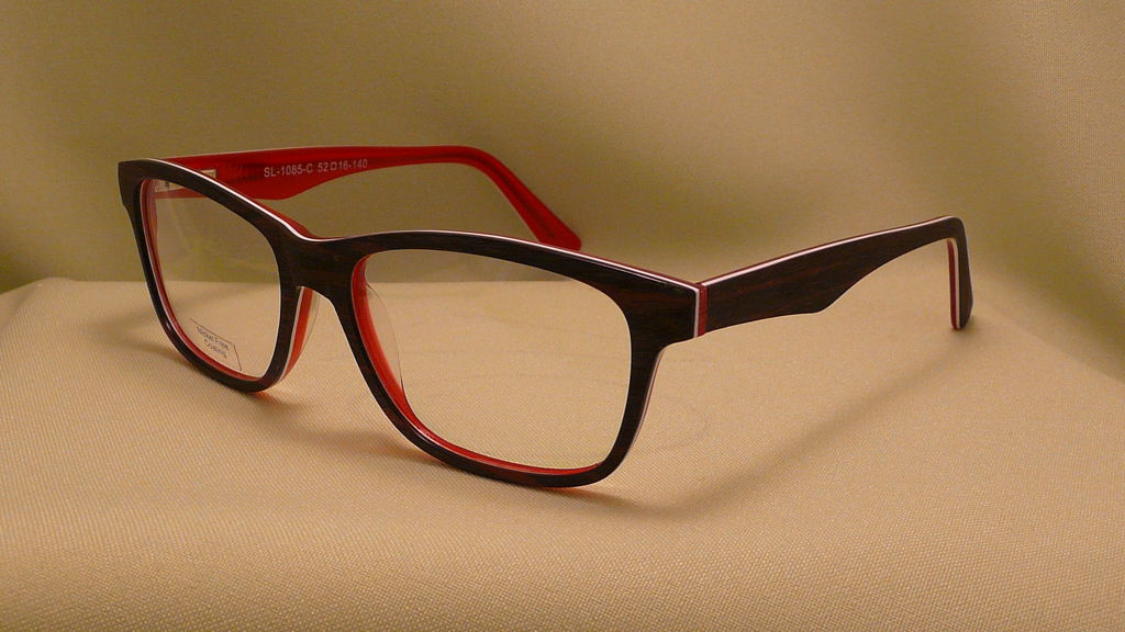 műanyag szemüvegkeret fekete piros af79304afe