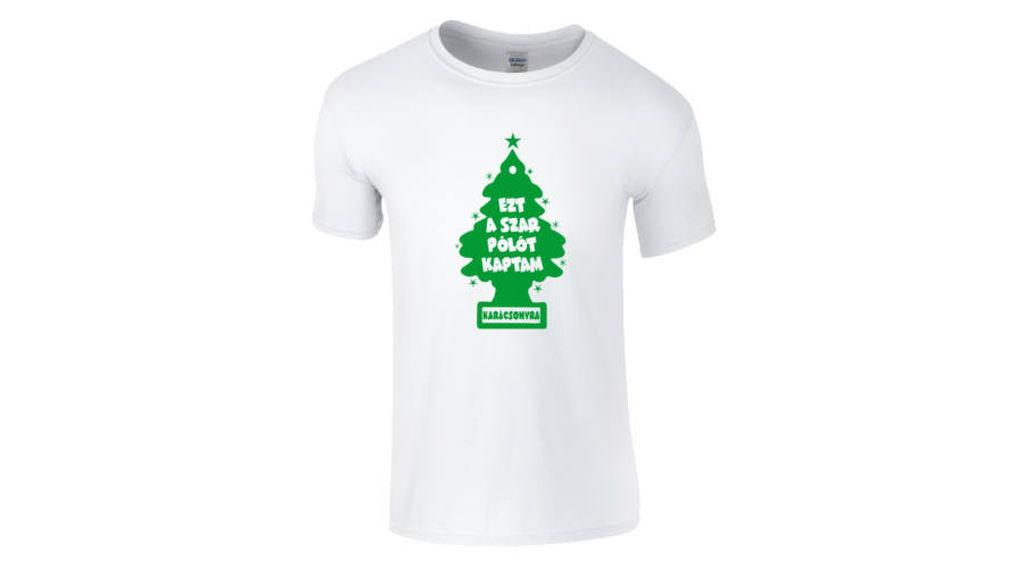 6fc0d78000 Feliratos férfi póló - Ezt a szar pólót kaptam karácsonyra